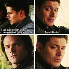 6×21 let it bleed. After tasting a few moments of happiness he had to let them go! Poor Dean he was so heart broken ;((((
