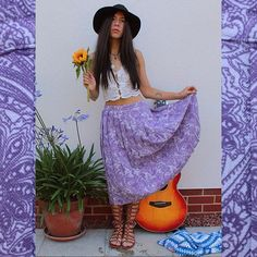 b489be5a70 We still have this boho beautiful Paisley skirt listed on our Depop! Just +  postage