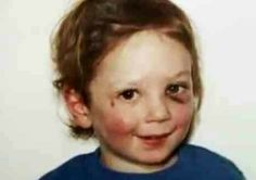 This 2 1/2 yr old was beaten to death by his step father...what kills me this child's face is bruised so bad yet he is still smiling...how come no one reported this obvious abuse? National Hotline 1-800-4-A-Child