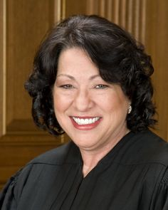 Supreme Court Justice Sonya Sotomayor