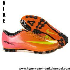 2013 Nike Mercurial Vapor IX AG Orange Pink Yellow For Sale
