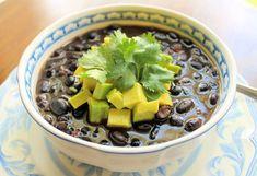 Savoir Faire: Black Bean Soup to celebrate my Latino DNA Caraotas Negras Honduran Recipes, Mexican Food Recipes, Salvadoran Food, Honduras Food, Slow Cooker Recipes, Cooking Recipes, Guatemalan Recipes, Hispanic Dishes, Great Recipes