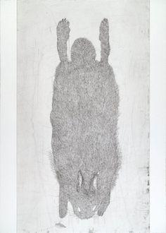 Kiki Smith. Untitled from White Mammals. 1998