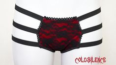 Red panties,black lace panties,velvet panties,strappy panties,sexy lingerie,gift for her