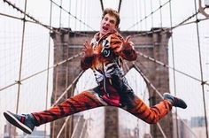 During a recent visit to New York City, Paul used his time to try to freak people out by performing surprise splits. The result are hilarious and, well, kind of hypnotic. | Watch Vine Superstar Logan Paul Perform Surprise Splits Around New York