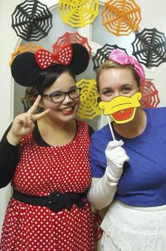 Minnie Mouse and Daisy Duck Halloween Costume   (Great for you and your best friend)