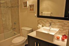Master Bathroom features luxurious fixtures