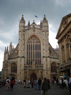 Abbey in Bath, UK, 2008