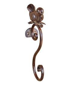 Look at this #zulilyfind! Bird Metal Hook #zulilyfinds. $8.99