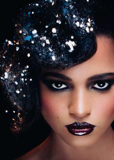Agence de mannequins Hype models Paris - Model agency in Paris / visage / femme / maquillage / afrique / rivièred'ocre