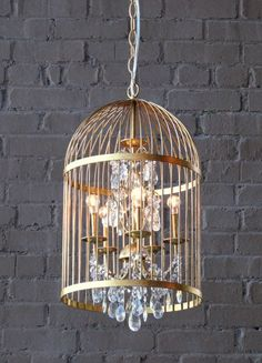 Bird Cage Chandelier | Tonic Home