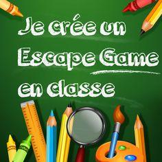 Mener un Escape Game en classe, c'est désormais facile ! Pour les élèves de 8 à 15 ans ! #élèves #écoles #school #prof #jeu #diy #maitresse #maitre #collège #primaire #enfants