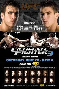 A poster or logo for The Ultimate Fighter 3 Finale.