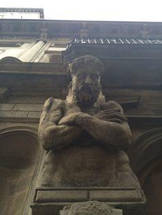 Statues in Milan
