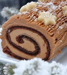 Çikolata Kremalı Rulo Pasta Tarifi www.afiyetle.com