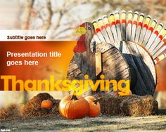 Thanksgiving is approaching, and what better way to celebrate the national holiday, than to share your favorite Thanksgiving recipe with all your Christian brothers and sisters with this free Thanksgiving Turkey PowerPoint background and template. Download for free at Fppt.com http://www.free-power-point-templates.com/thanksgiving-turkey-powerpoint-template/ #ThanksgivingHoliday #powerpoint #background