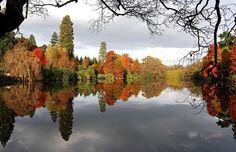 Sheffield Park, Sussex. UK  beautiful fall colors