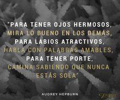 Cita belleza, de la gran Audrey Hepburn. con @PremierESP #CitasBelleza #Celebrities #Reflexiones #MaximasPremier