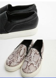 Price: 18.99$ The new 2014 super beauty serpentine leisure white sneakers The lazy shoes women flat shoes