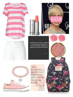"""Rose Miraculous Ladybug"" by foojtan on Polyvore featuring moda, Pixie, Étoile Isabel Marant, Pedro del Hierro, Converse, Milani, Lipsy, Lancôme, Love Quotes Scarves i Dollydagger"
