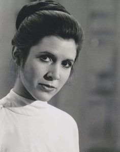 Carrie Fisher - Princess Leia - Star Wars - The Empire Strikes Back RIP, Carrie. Star Wars Film, Star Wars Art, Star Trek, Starwars, Kino Movie, Carrie Frances Fisher, Avatar Picture, Alec Guinness, Leia Star Wars