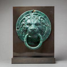 Roman Bronze Lion Roundel Ein Gedi, Israel Circa: 1 st Century AD to 3 rd Century AD