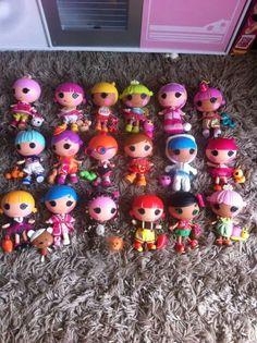 "A collection of Lalaloopsy Littles! ""#lalaloopsycollection"