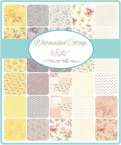 Jan/15 - Whitewashed Cottage Fat Quarter Bundle