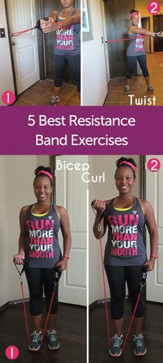 You don't have to have a fancy gym membership to reap the benefits of these resistance band exercises. See how you can get a full body workout with just a few simple moves. Be sure to protect yourself with Poise® Impressa® Bladder Supports to help keep you dry during every at-home workout.