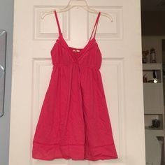 Forever 21 Sundress Cute salmon sundress Forever 21 Dresses Mini