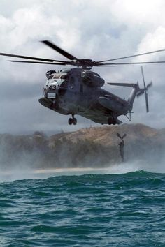 CH-53D Sea Stallion helicopter