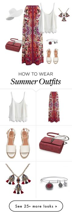 """""""outfit 4032"""" by natalyag on Polyvore featuring Etro, Chicwish and Palm Beach Jewelry"""