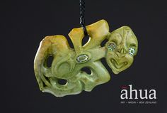 Hei Tiki | Ahua Māori Art Gallery | NZ Maori Arts and Crafts Maori Tribe, Maori People, Polynesian Art, Maori Art, My Images, Pendant Jewelry, Art Gallery, Arts And Crafts, Carving
