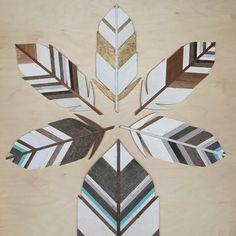 Feather Wall Art -3' – JLWoodworx & Design