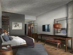 South Congress Hotel guestroom