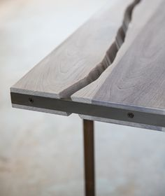 Detail of Live Edge Table
