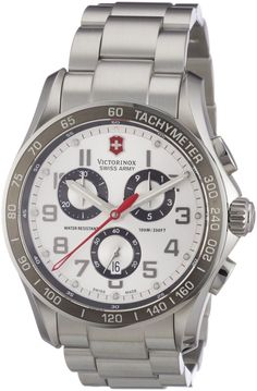 online shopping for Victorinox Men's 241445 Swiss Army Analog Swiss Quartz Silver Watch from top store. See new offer for Victorinox Men's 241445 Swiss Army Analog Swiss Quartz Silver Watch Sport Watches, Cool Watches, Watches For Men, Citizen Watches, Wrist Watches, Men's Watches, Jewelry Watches, Diamond Watches, Casual Watches