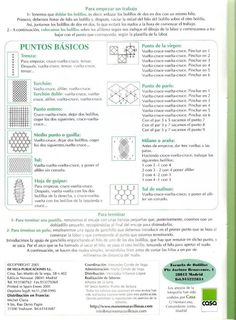 Labores de Bolillos 02 Bobbin Lace Patterns, Lace Making, Techno, Bullet Journal, Album, How To Make, Book, Crochet, Crafts