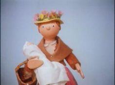 Mrs Honeyman and her baby, remember her rushing about gossiping in camberwick green