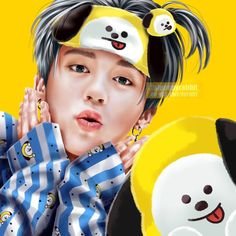 Image discovered by Gladys제시카. Find images and videos about kpop, bts and jimin on We Heart It - the app to get lost in what you love. Fanart Kpop, Jimin Fanart, Taehyung Fanart, Foto Bts, Busan, Jikook, Bts Drawings, Fan Art, Bts Chibi