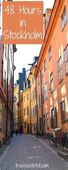 48 Hours in Stockholm | Travel Cook Tell