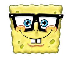 Star Cutouts Printed Card Mask of Spongebob Squarepants Spectacles - http://moviemasks.co.uk/product-category/sample-product/star-cutouts-printed-card-mask-of-spongebob-squarepants-spectacles