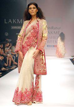 Great Design - #saree #sari #blouse #indian #outfit  #shaadi #bridal #fashion #style #desi #designer #wedding #gorgeous #beautiful