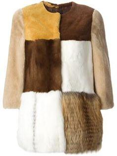 Chloé Faux Fur Coat - Kirna Zabête - Farfetch.com