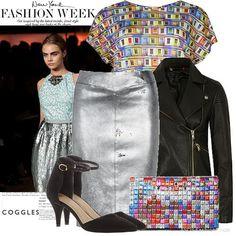Metallic+Runway+|+Women's+Outfit+|+ASOS+Fashion+Finder