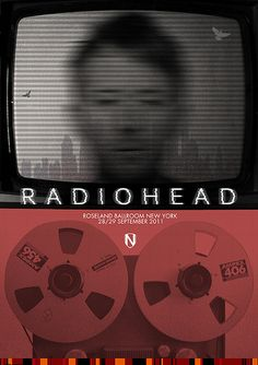 RADIOHEAD by Matt Needle, via Flickr