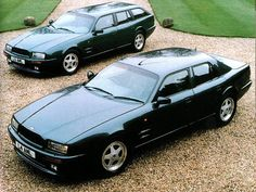 """In 1994 with Aston Martin releasing its Virage on to the public a more practical/madder option was offered by its """"Factory Service Department"""". It offered the 3 door GT car as both a 4 door saloon and also a shooting brake estate, but renamed as a Lagonda Virage!!!!!"""