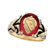 Alpha Phi Antique Crest Ring