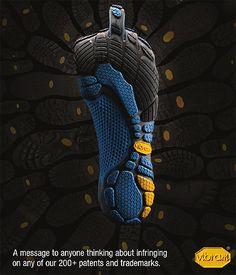 Barefoot Copycat: Vibram Suing Fila USA