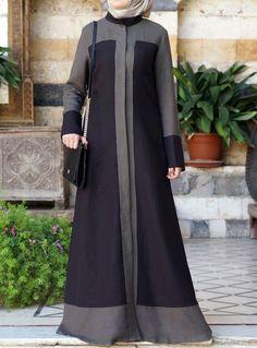 Chic Jilbab in 2019 Clothie :p fashion, Dresses 2 hijab abaya - Hijab Abaya Fashion, Modest Fashion, Fashion Dresses, Style Fashion, Mode Abaya, Mode Hijab, Muslim Dress, Hijab Dress, Parda